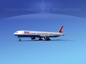 3ds boeing 777-300