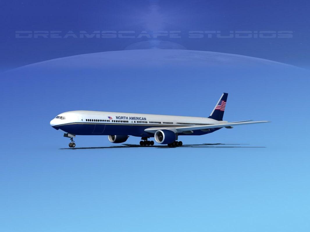3d boeing 777-300