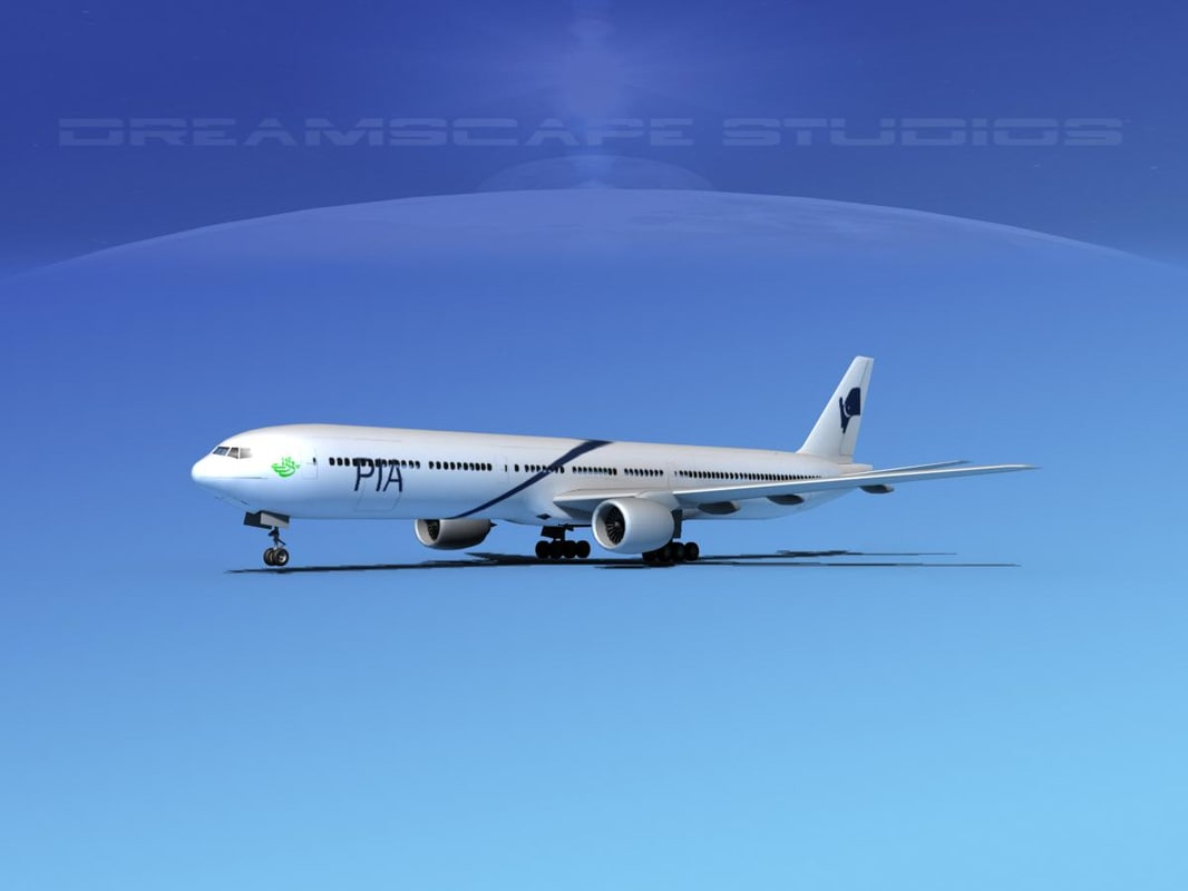 boeing 777-300 dxf