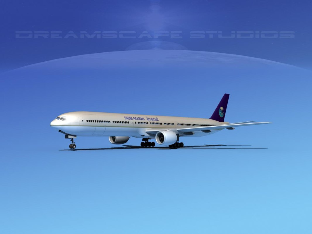dxf boeing 777-300