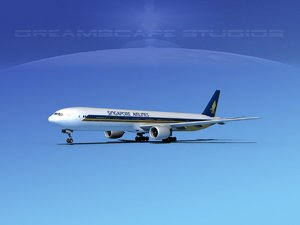 max boeing 777-300 airliners