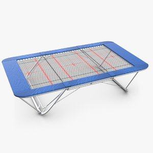 3d obj gymnastics trampoline 2