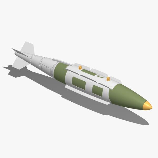gbu-31 jdam 3d model