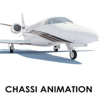 max cessna citation xls animation