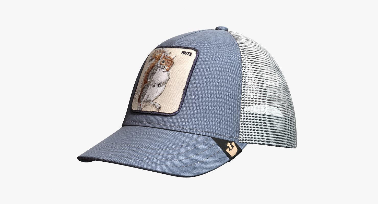 hat goorin brothers animal 3d model