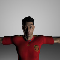 tom realistic 3d model