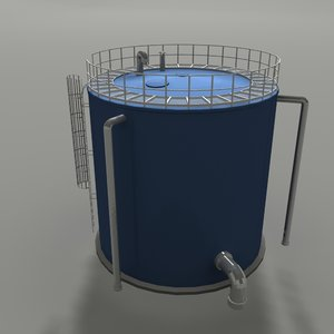 3ds water tank