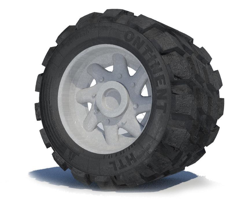 wheel monster truck 3ds