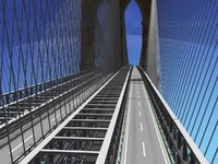 brooklyn bridge 3d max