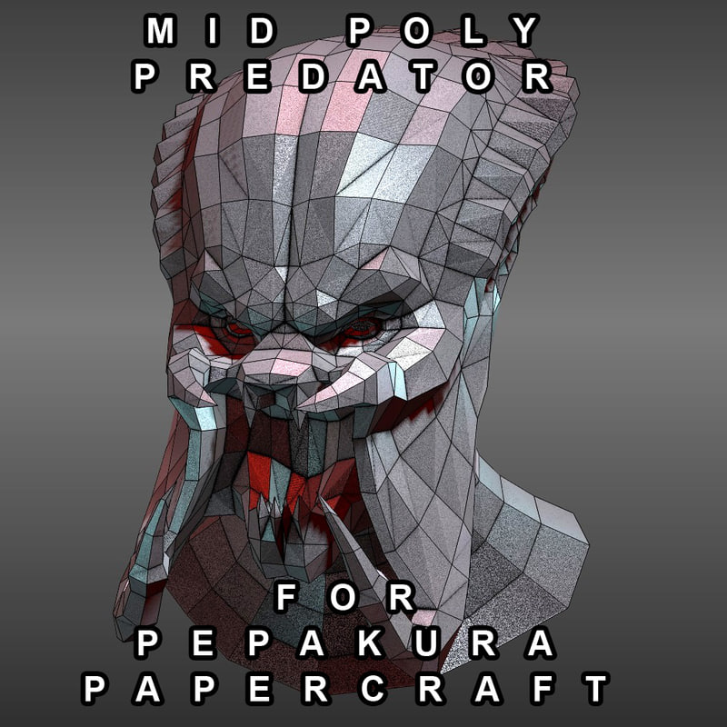 3D Pepakura Models | TurboSquid