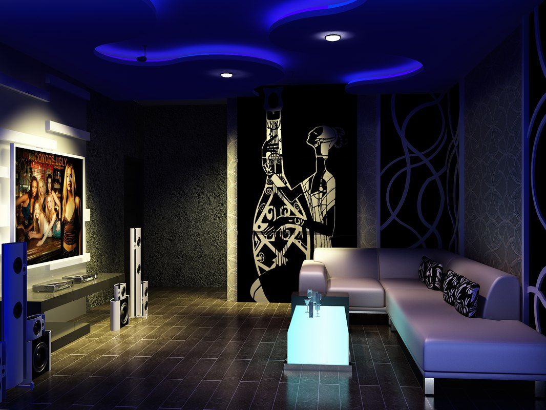3d model room design for Karaoke room design ideas