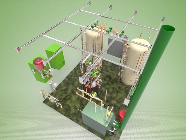 free ige model heat house