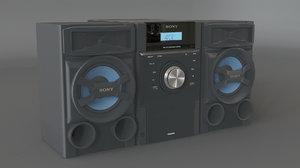 sony mhc-ec69i stereo max