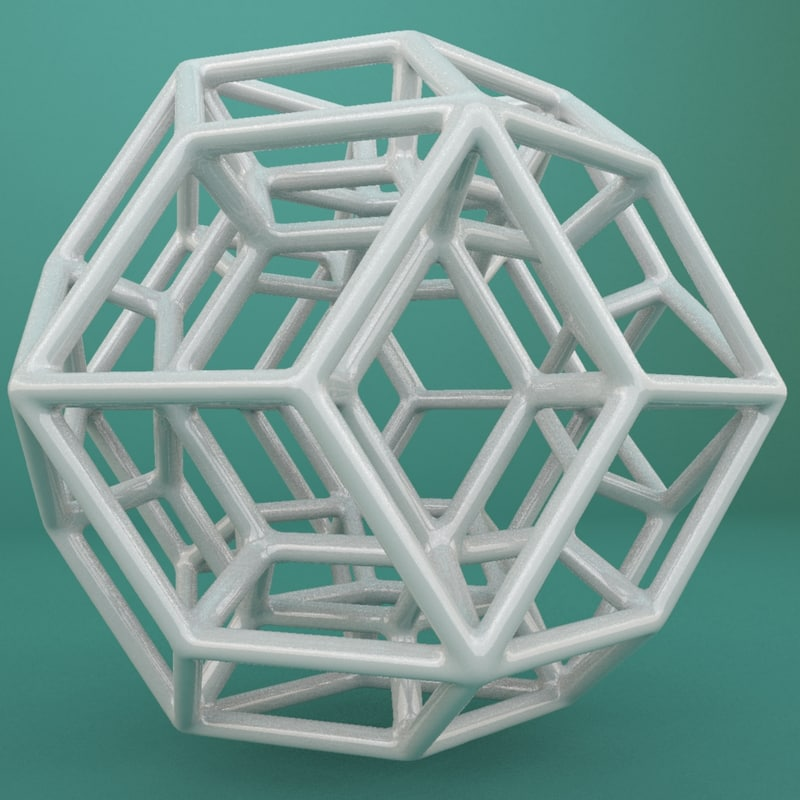 geometric shape 3d max