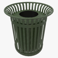 Outdoor Trash Can
