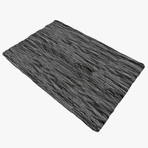 slate plate 3d max