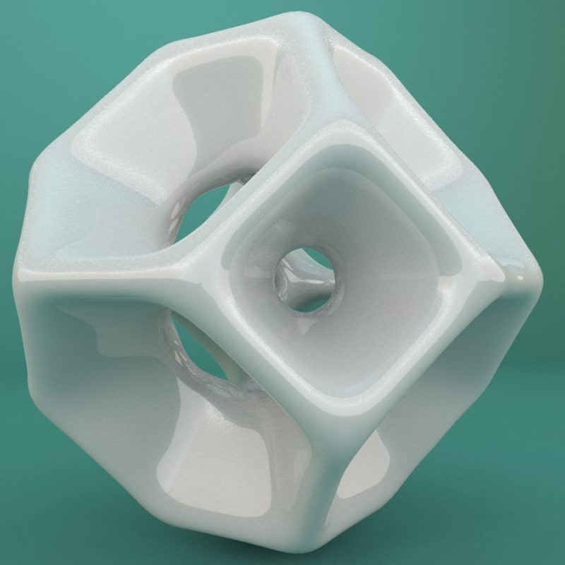 3d model geometric shape