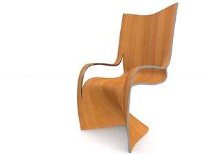 3d model seating