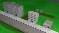 3d model street soviet