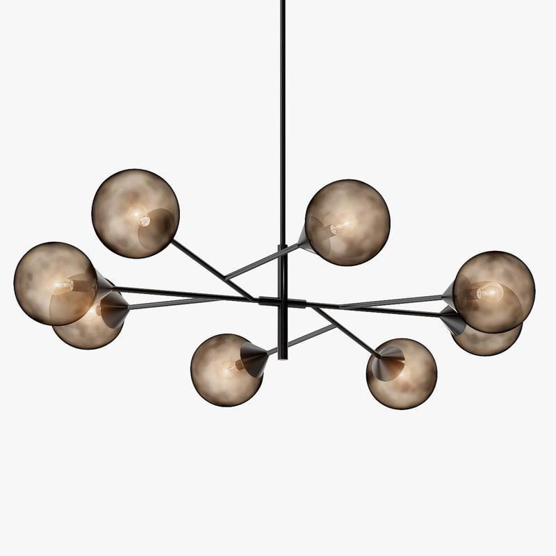 3d kendama lamps lights model