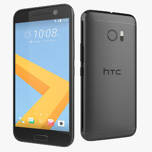 3d model new htc 10 flagship