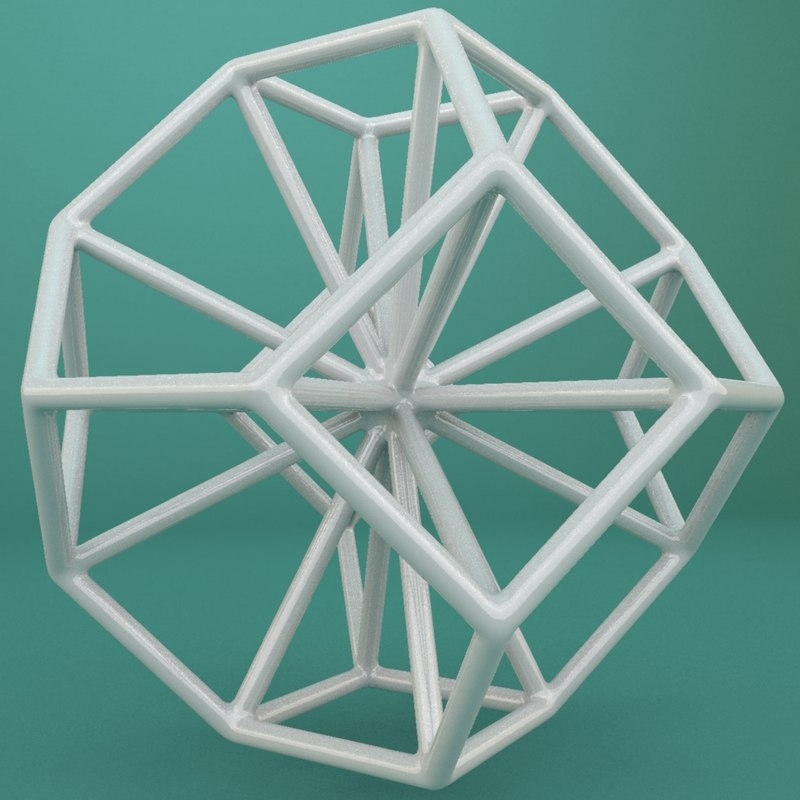 3d max geometric shape