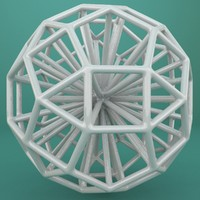 3d model of geometric shape
