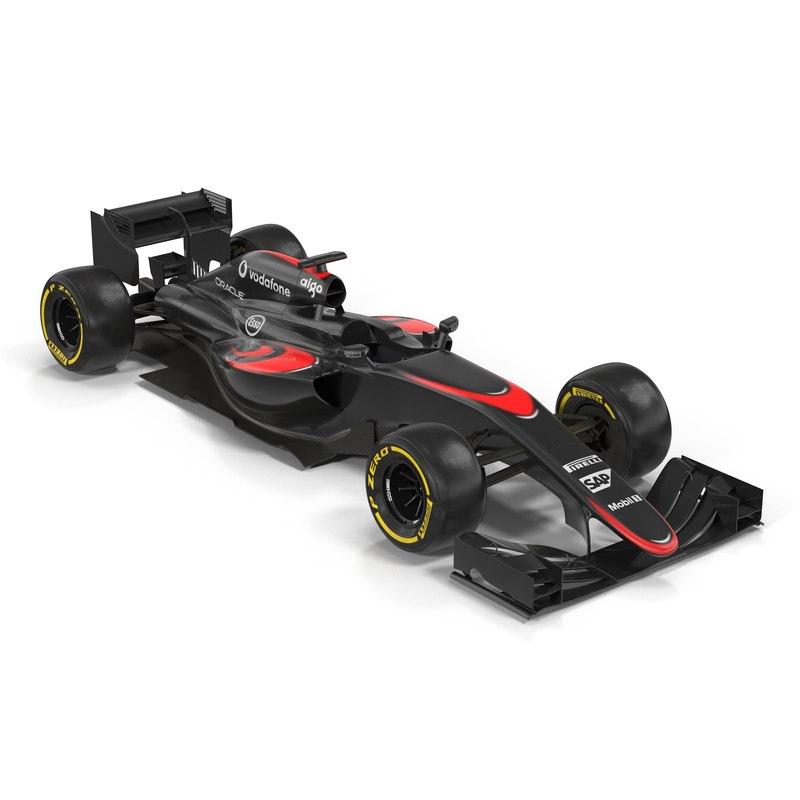 3d formula car