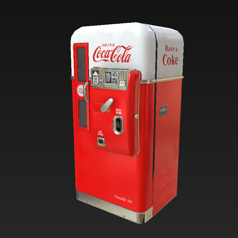 3d 50 vending machine