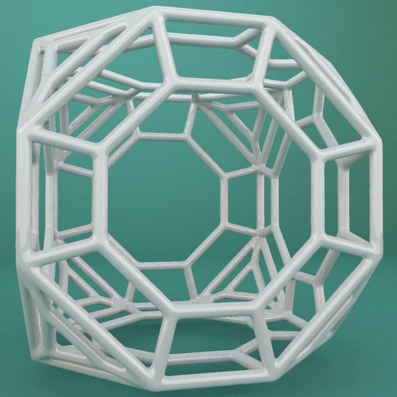 geometric shape 3d model