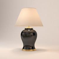 eichholtz table lamp mundon 3d dwg