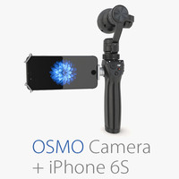 Collection DJI Osmo Camera + iPhone 6S Gray