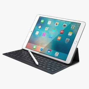 apple ipad pro 9 3d model