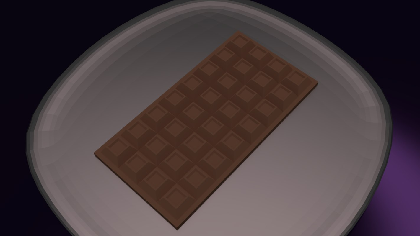 3ds chocolate bar