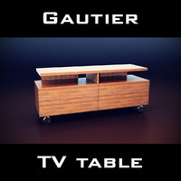 gautier manhattan tv unit 3d 3ds