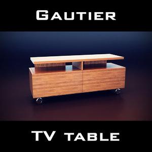 gautier manhattan tv unit 3d 3ds