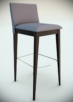 capdell gala stool 3d model