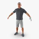 golfer 3D models