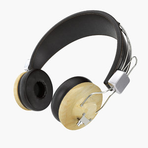 headphones lkpr 3d model