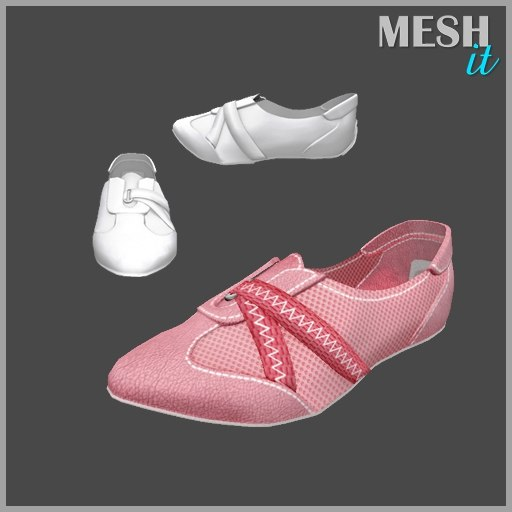 3ds sport shoes pink