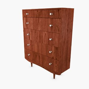 3d dresser century model