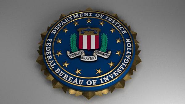 seal fbi 3d x