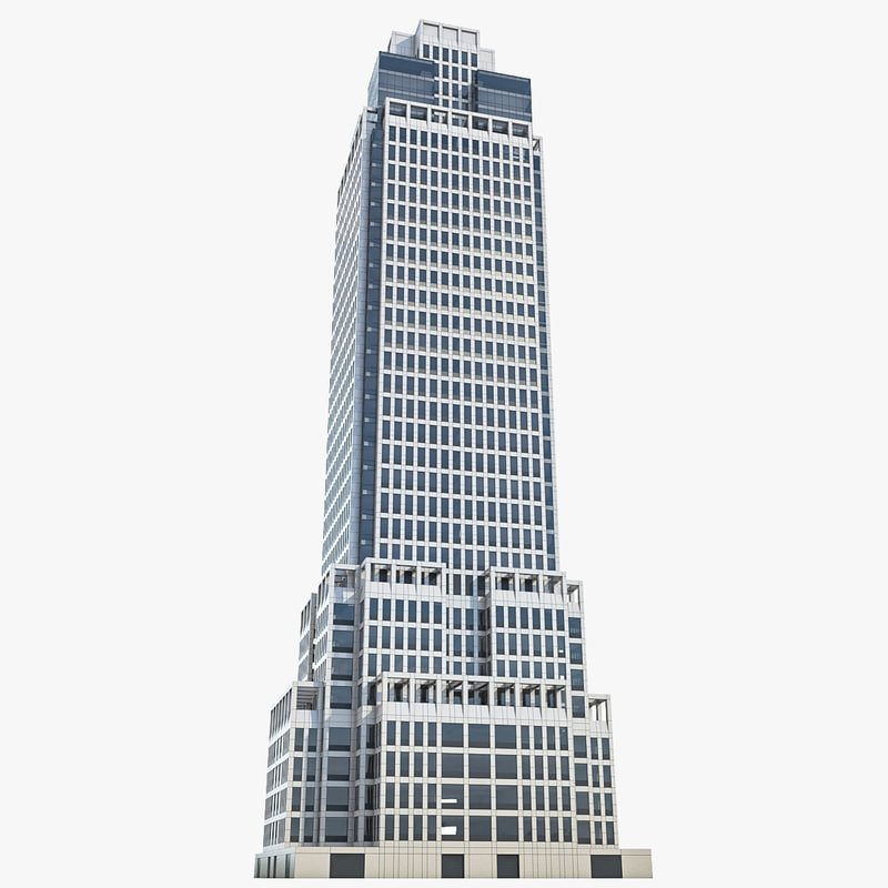 office skyscraper building 3d model