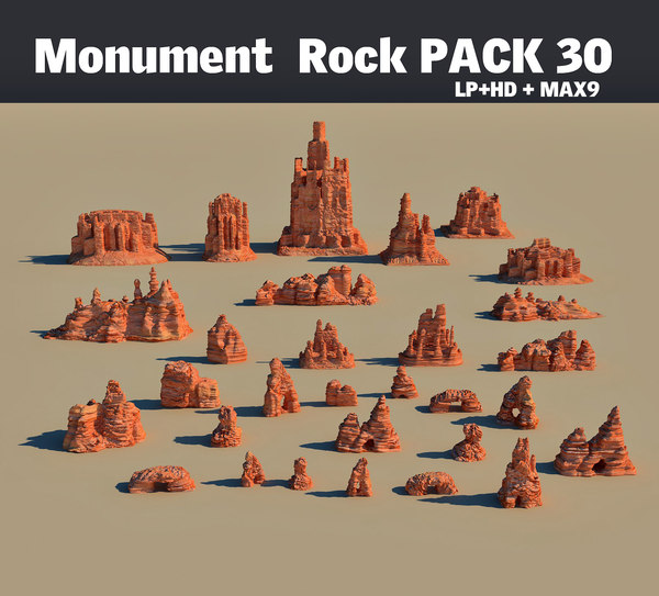 3d max mountains pack 30