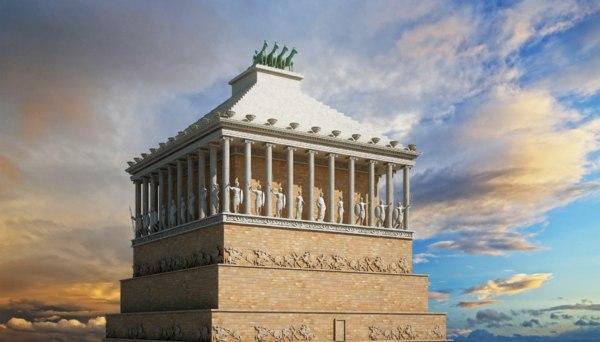 ancient mausoleum halicarnassus max