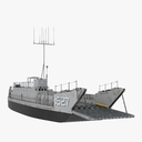 landing craft 3D models