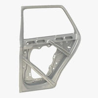 3d suv door frame 2