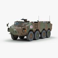 3d model modern type 96