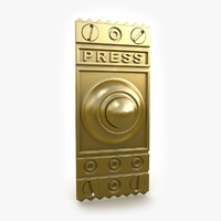 3d model of door bell