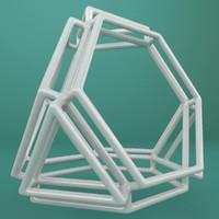 3d model geometric shape
